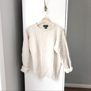 VINTAGE Charter Club lambswool angora knit sweater